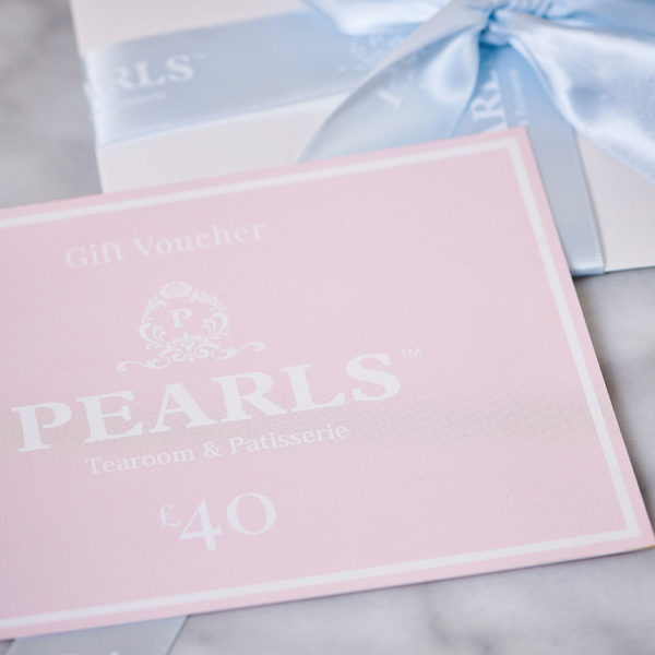 pearls gift voucher option £40
