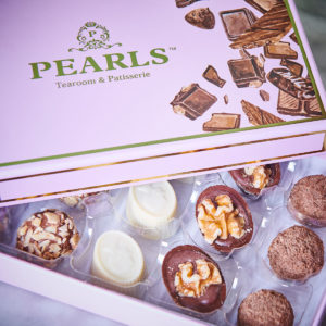 chocolates box presentation